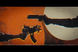 Deathloop pointing guns