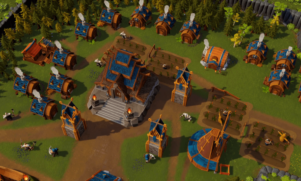 DwarfHeim Village