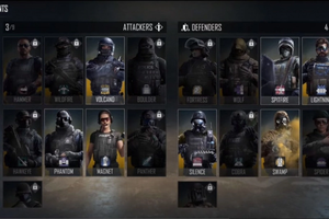 Area F2 operator selection menu