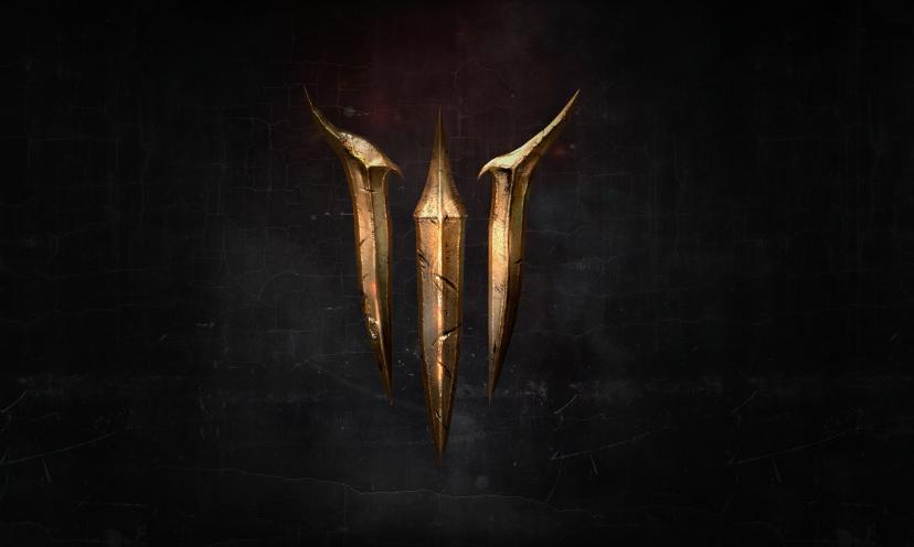 Baldurs Gate 3 Logo Maybe