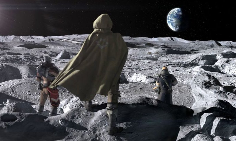 Destiny 2's new expansion set on the moon