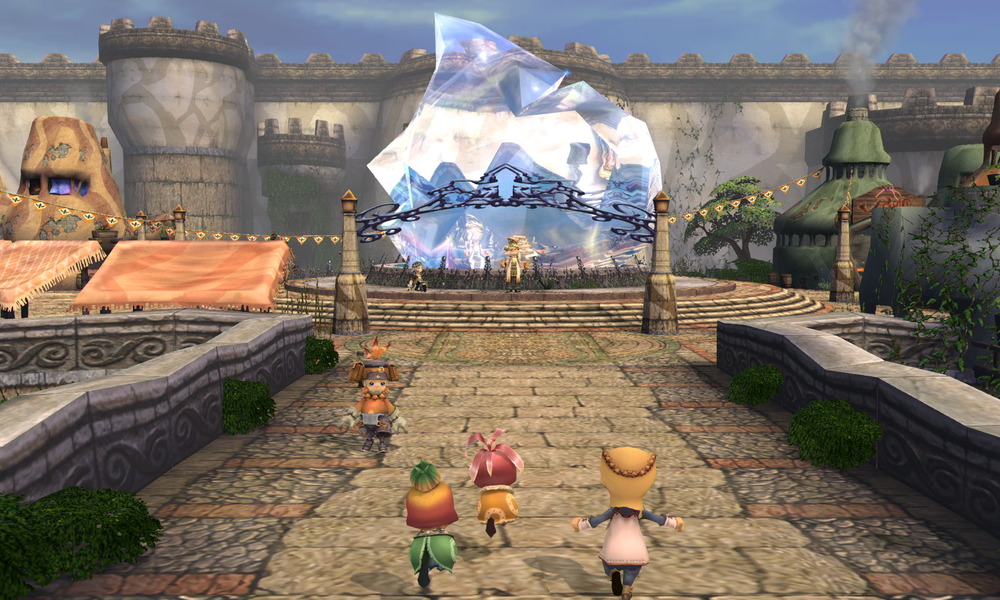 Final Fantasy Crystal Chronicles Remastered gameplay