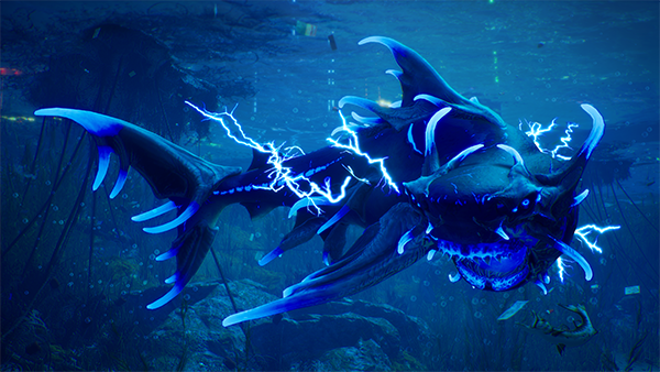 Maneater electric shark evolution