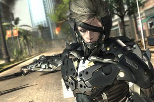 Metal Gear Rising - Raiden