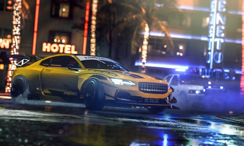 Need For Speed Heat cars racing