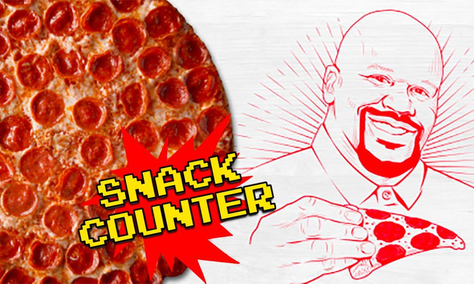 Shaq-a-Roni Snack Counter