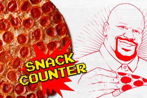 Shaq-a-Roni Snack Counter