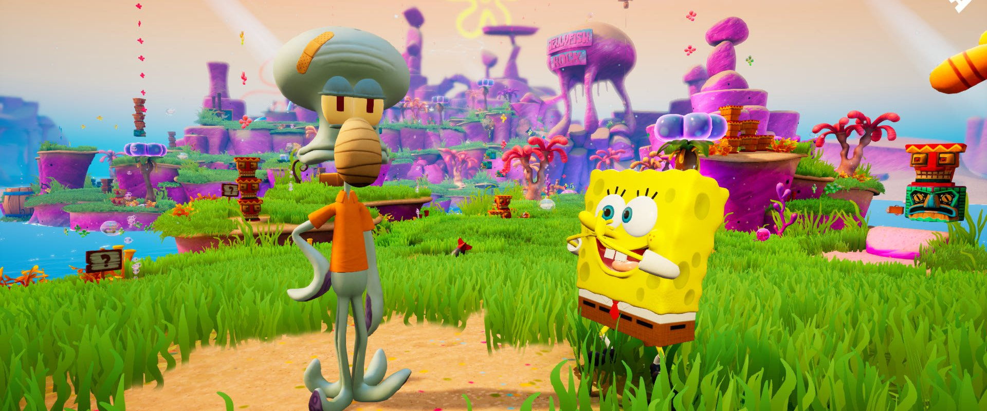 SpongeBob SquarePants: Battle for Bikini Bottom – Rehydrated Spongebob and Squidward