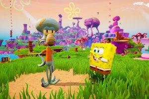 SpongeBob SquarePants: Battle for Bikini Bottom – Rehydrated Spongebob and Squidward