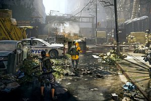 The Division 2 Players in the Street