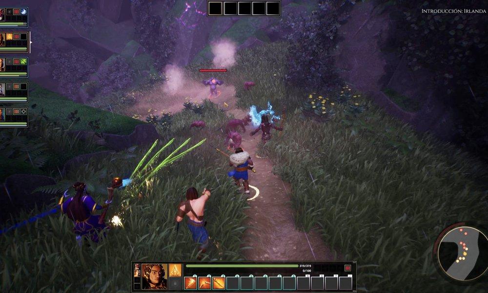 The Waylanders gameplay