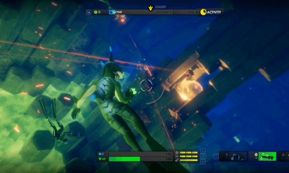 Tidal Shock gameplay